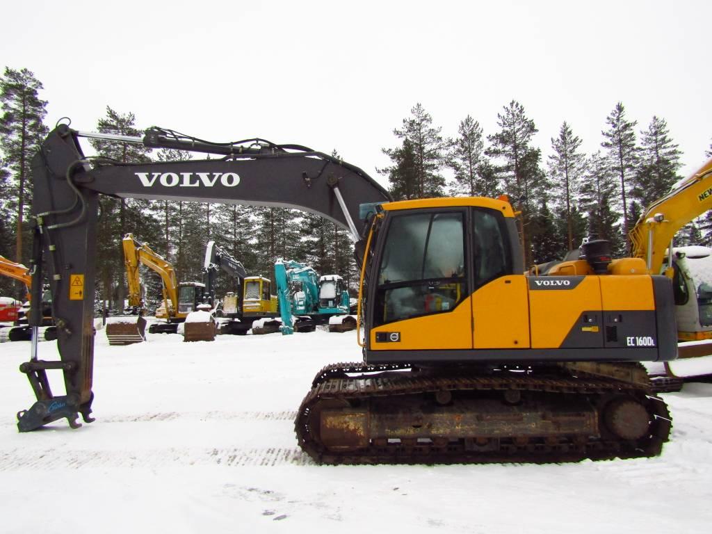 Volvo EC160DL PIKALIITIN, HUOLLETTU, Telakaivukoneet, Maarakennus
