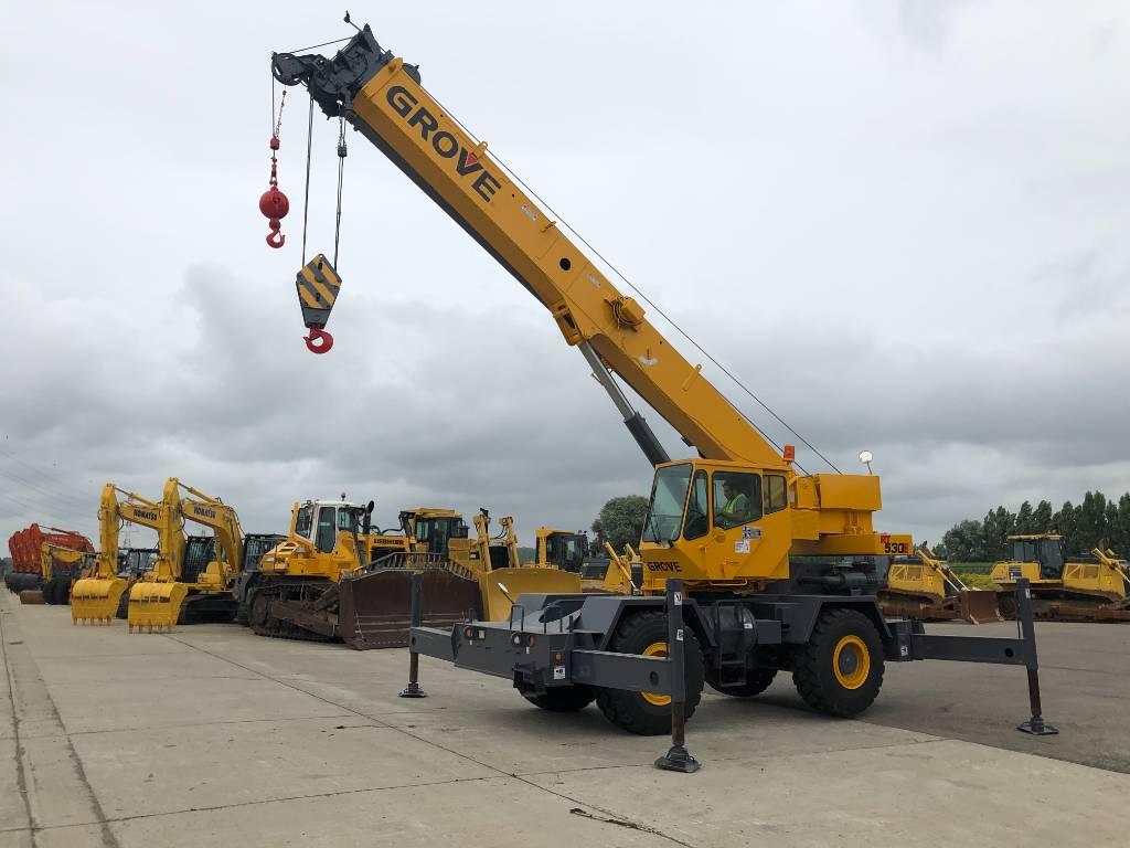 Grove RT 530 E, Rough terrain cranes, Construction