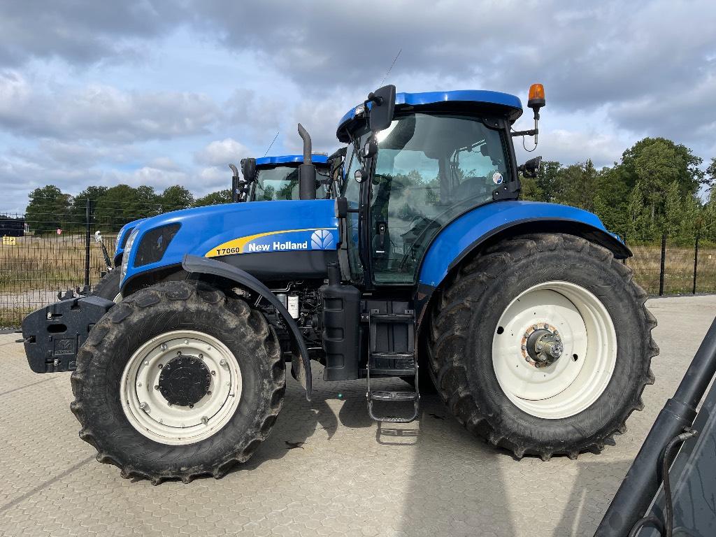 New Holland T 7060 PC, TG 3.450tim!!, Traktorer, Lantbruk