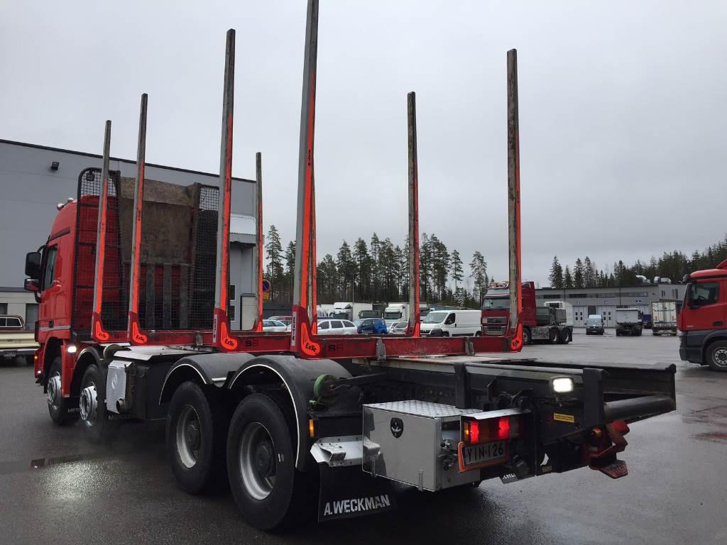 Mercedes benz actros 4160k timber trucks year of mnftr for Mercedes benz actros for sale