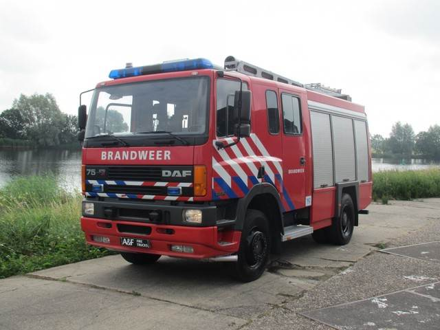 DAF 75 - 270 ATi 4x4 Rosenbauer, Fire trucks, Transportation