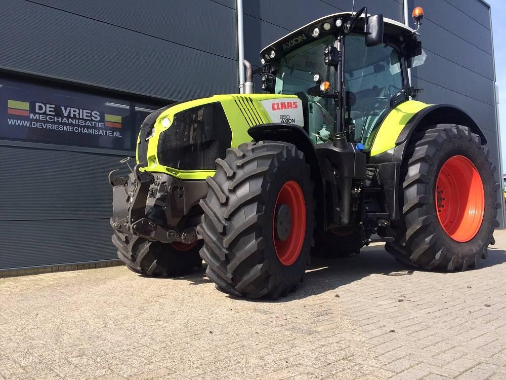 CLAAS Axion 850 CIS, Tractoren, Landbouw