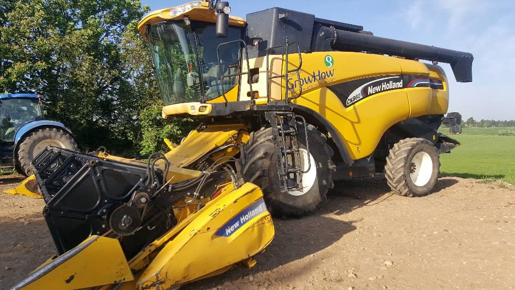 New Holland CX860, Kombainid, Põllumajandus