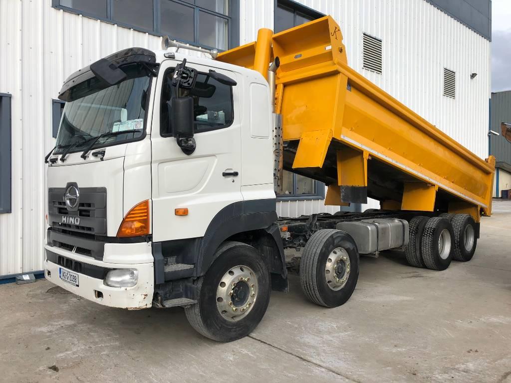 Hino 700, Dump Trucks, Trucks and Trailers
