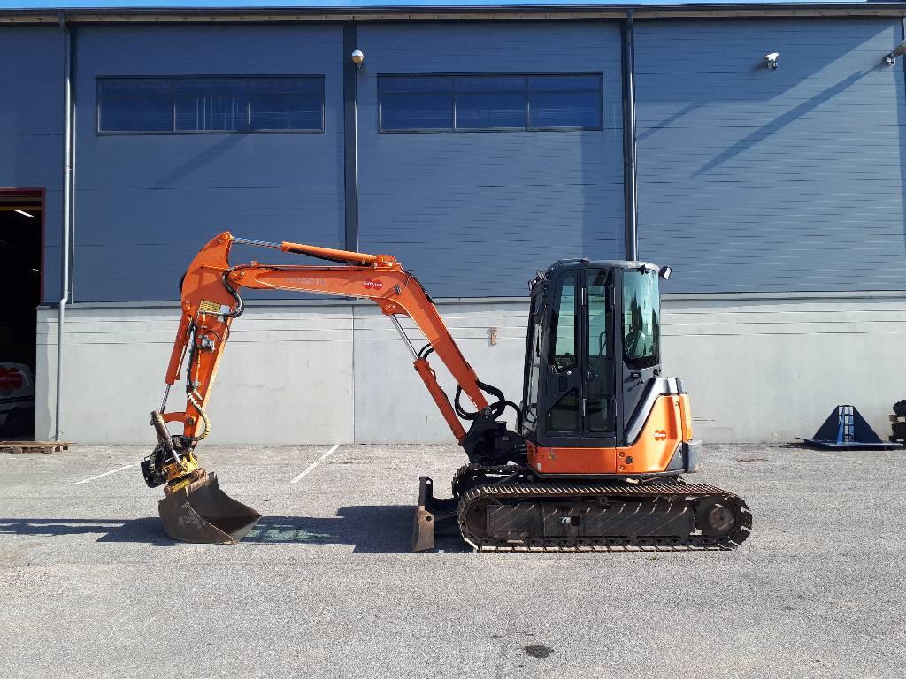Hitachi ZX50U-2 CLR, Mini excavators < 7t (Mini diggers), Construction