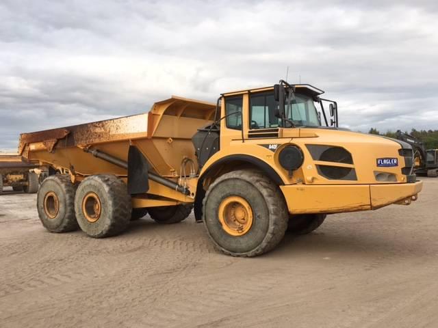 Volvo A40F, Articulated Dump Trucks (ADTs), Construction Equipment