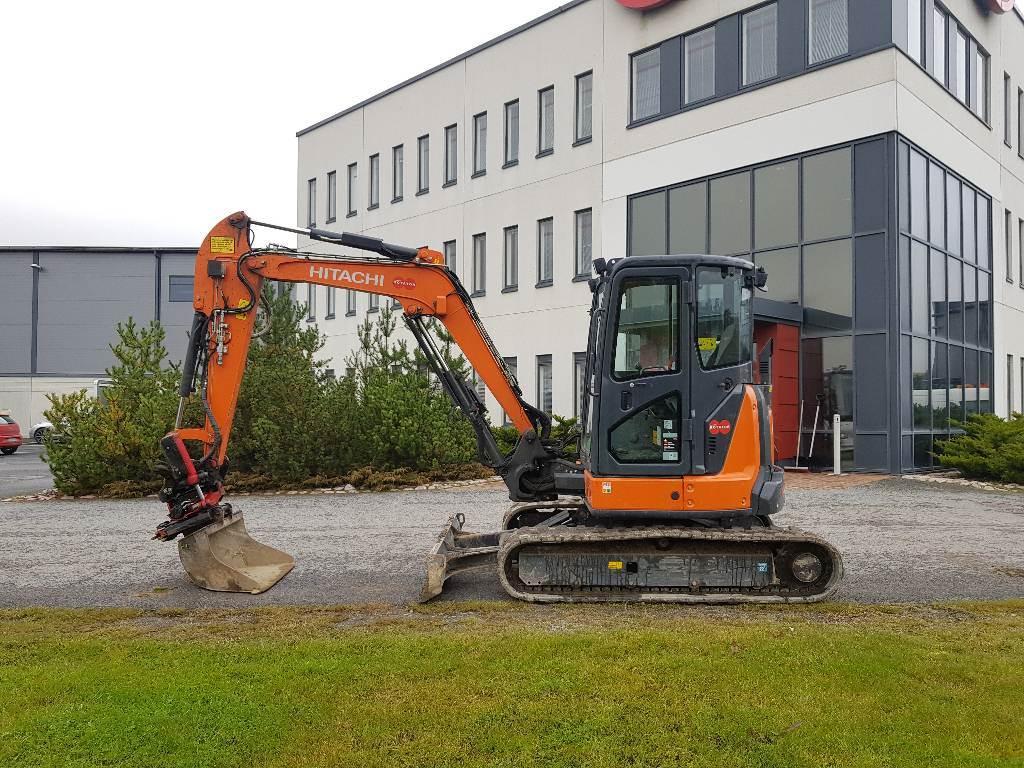 Hitachi ZX48U-5A, Mini excavators < 7t (Mini diggers), Construction