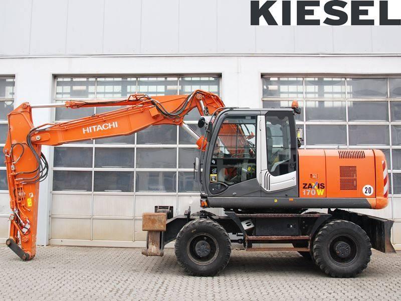 Hitachi ZX 170 W-3, Wheeled Excavators, Construction Equipment