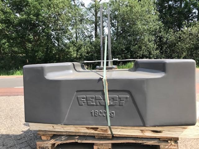 Fendt 1800 kg, Frontgewichten, Landbouw