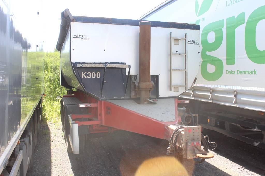 AMT 3 akslet asfalt tipkærre, Anhænger med tip, Transport
