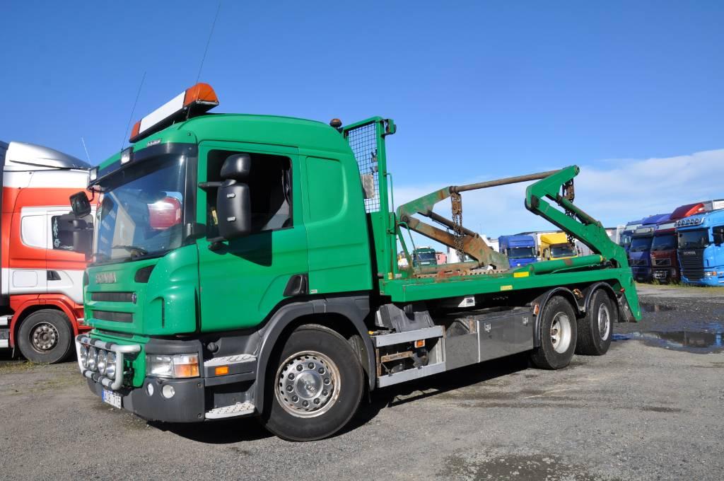 Scania P420LB6X2*4HNA, Liftdumperbilar, Transportfordon
