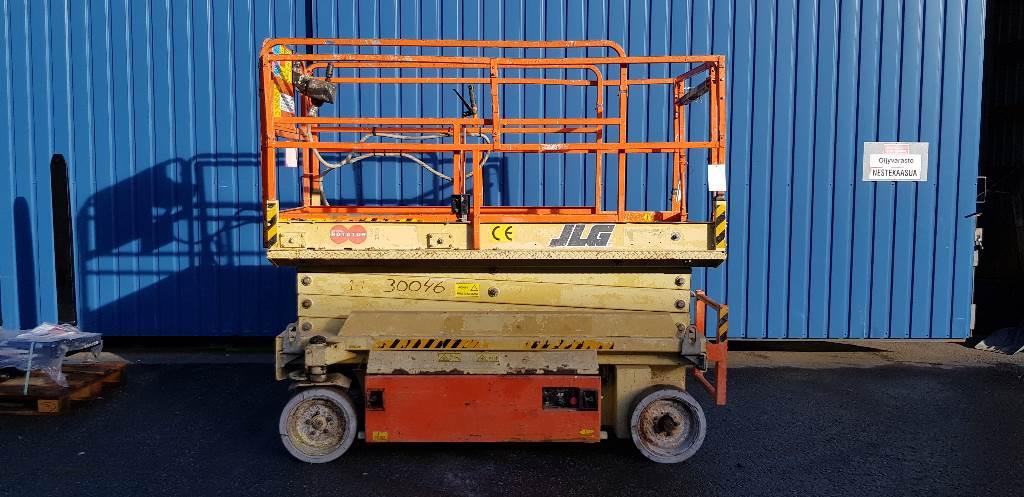 JLG 2646 E, Scissor lifts, Construction