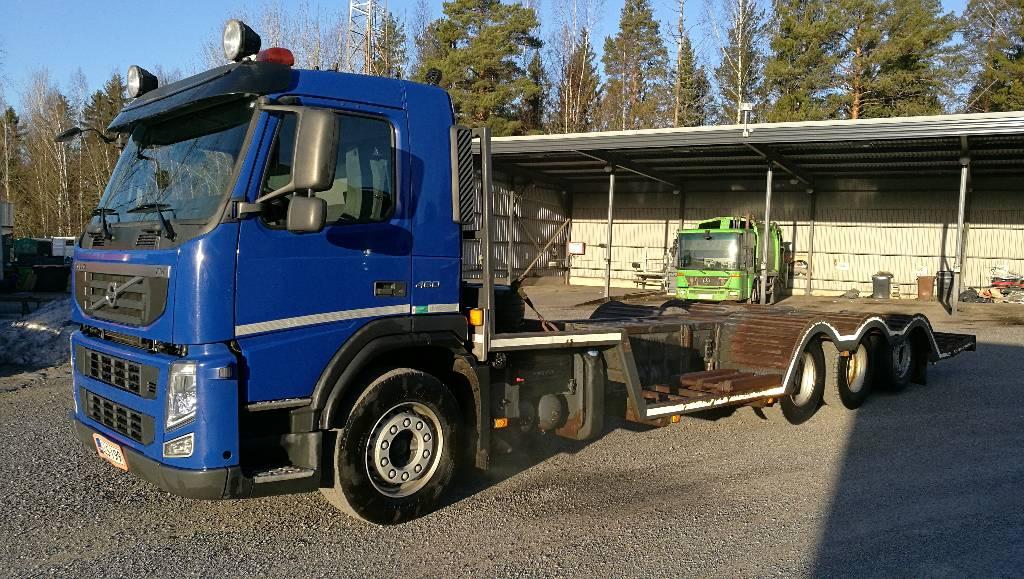Volvo FM460 8X4, Muut kuorma-autot, Kuljetuskalusto