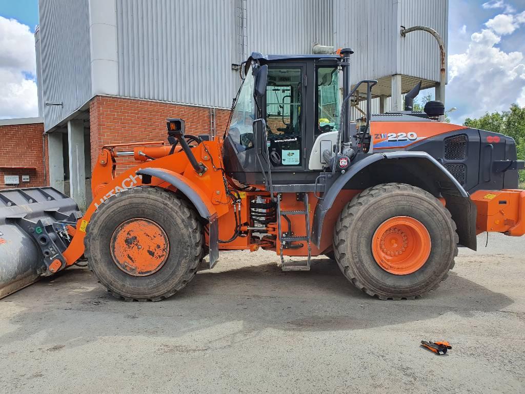 Hitachi zw220-6, Wheel loaders, Construction