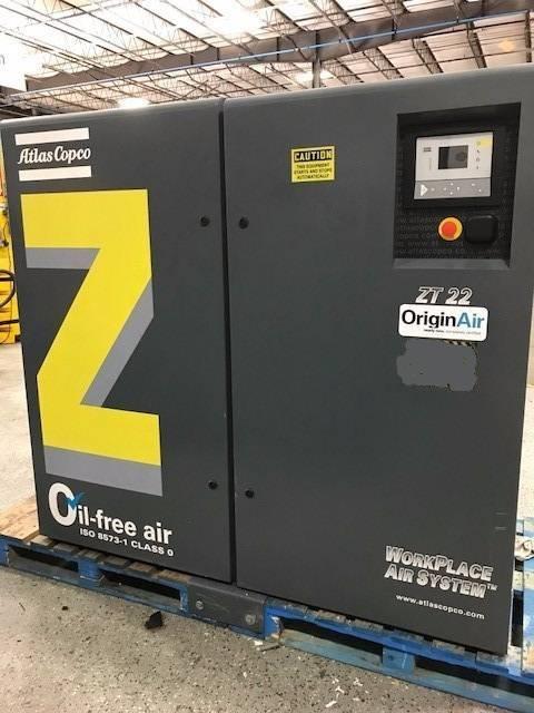 Atlas Copco ZT 22, Compressors, Industrial