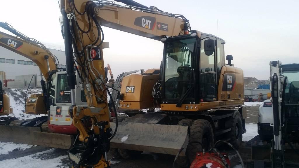 Caterpillar M316F *UTHYRES / FOR RENT*, Hjulgrävare, Entreprenad