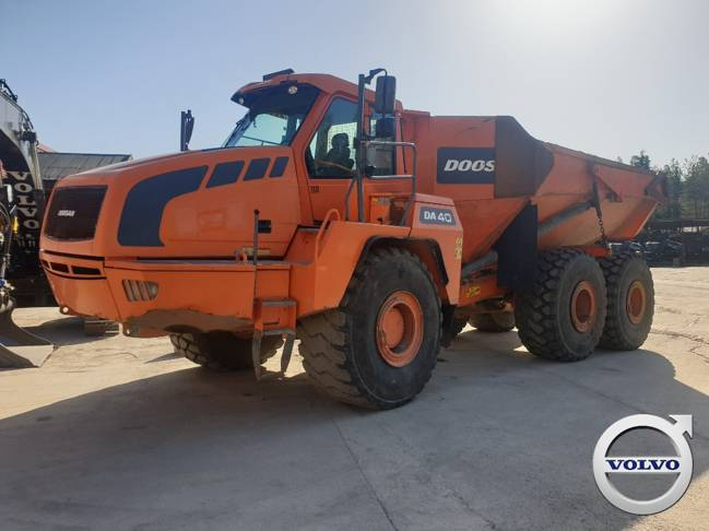 Doosan DA 40, Articulated Dump Trucks (ADTs), Construction Equipment