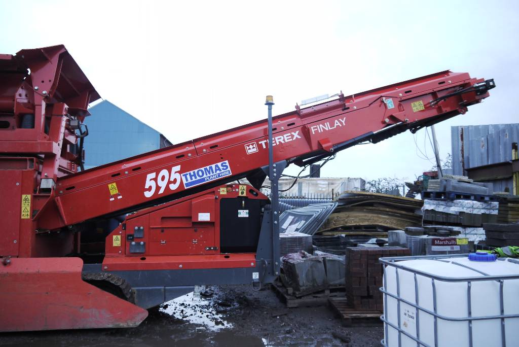 Terex 595, Mobile screeners, Construction