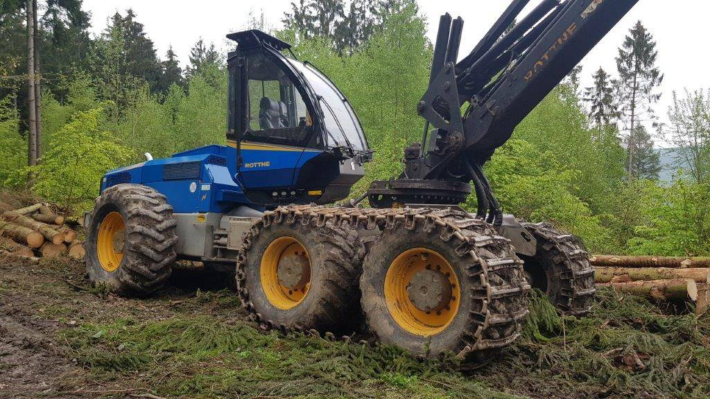 Rottne H20, Harvesters, Forestry Equipment