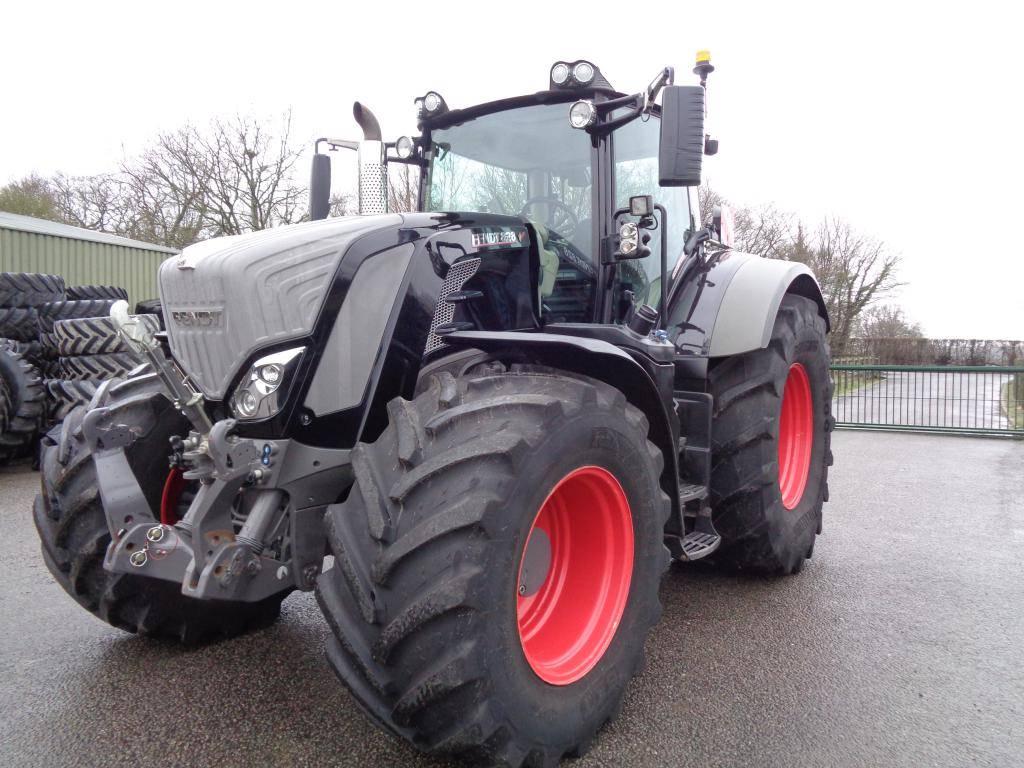 Fendt 828 Profi Plus Black, Tractors, Agriculture