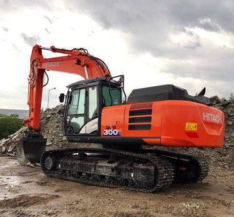 Hitachi ZX300 LC-6, Crawler excavators, Construction