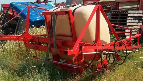 Hardi 1000, Piekabināmie smidzinātāji(miglotāji), Lauksaimniecība