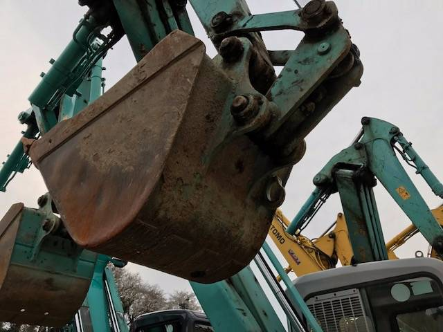 Kobelco SK75UR-3, Midi excavators  7t - 12t, Construction