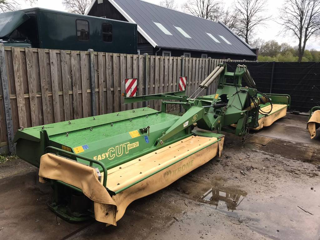 Krone Easy Cut 9140 CV, Mowers, Agriculture