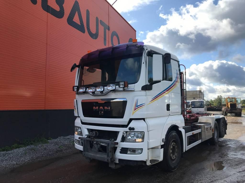 MAN TGX 26.480 6X2-2 BL UNDER PLOUGH attachment, Tow Trucks / Wreckers, Trucks and Trailers