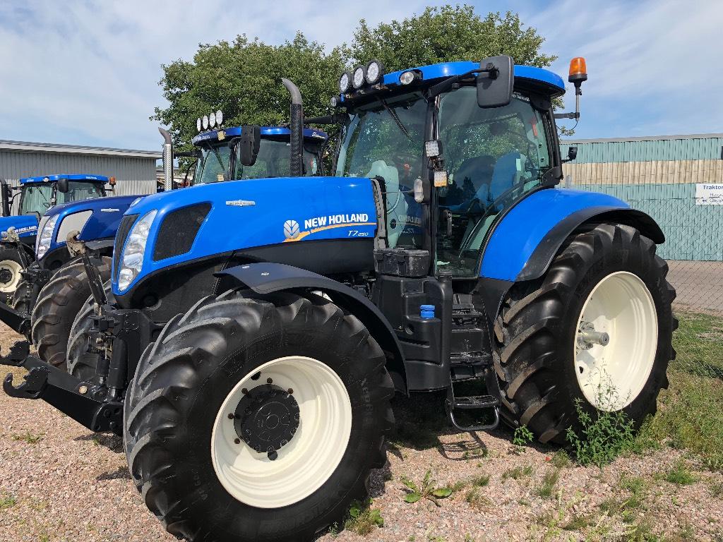 New Holland T7.250 AutoCommand, TG, EZ steer -12, Traktorer, Lantbruk