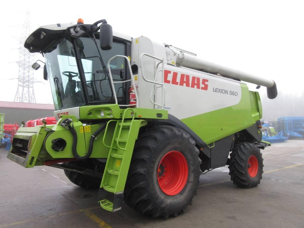 CLAAS Lexion 560, Derliaus nuėmimo kombainai, Žemės ūkis