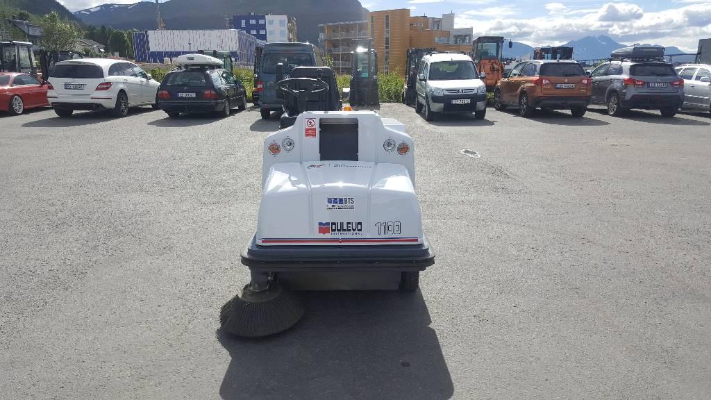 Dulevo 1100 EH Feiemaskin, Feiemaskiner, Park & Hageanlegg