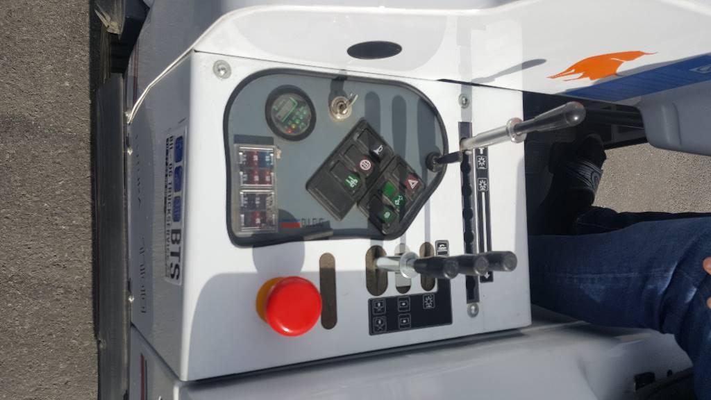 Dulevo 1100 EH Feiemaskin (på lager), Feiemaskiner, Park & Hageanlegg
