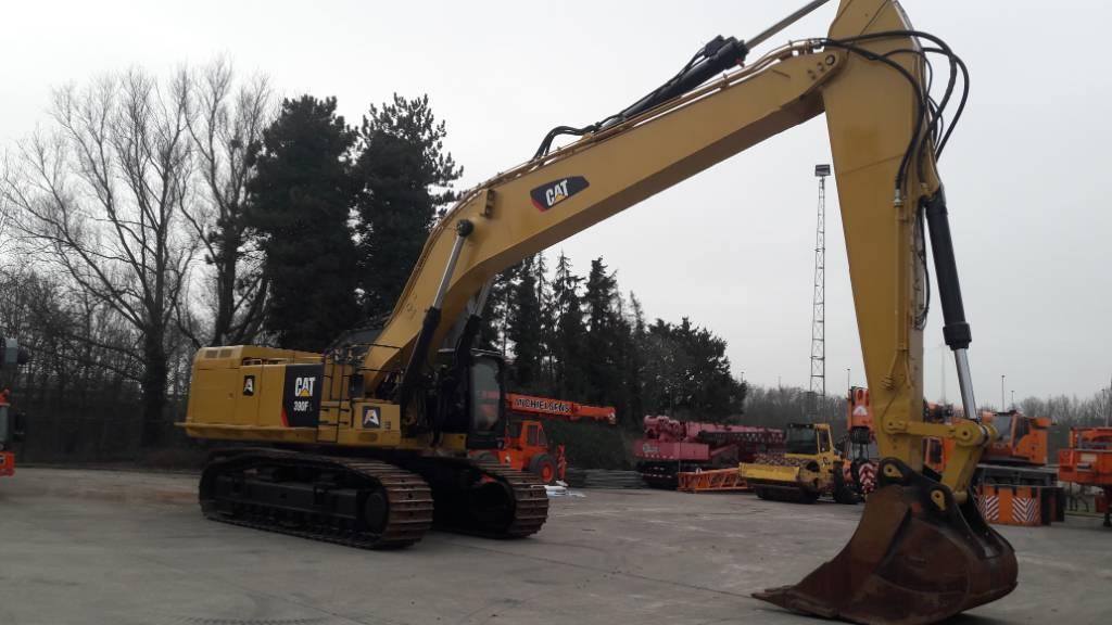 Caterpillar 390 F L, Crawler excavators, Construction