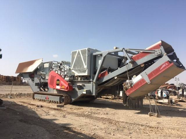 GIPO R 170 FDR - HD, Mobile crushers, Construction