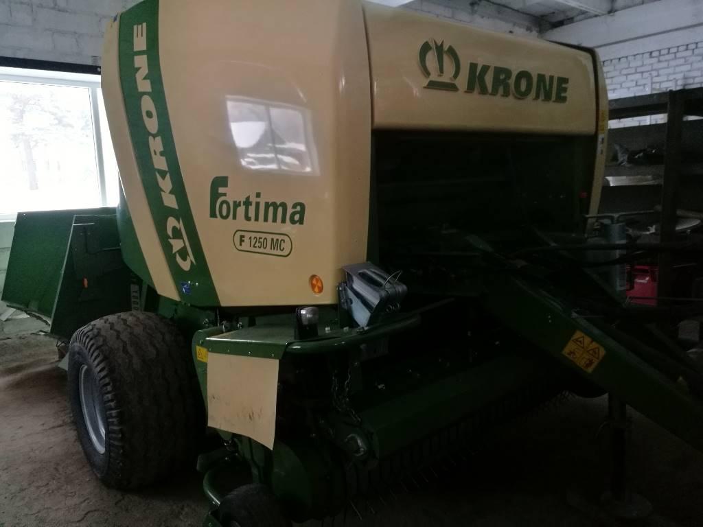 Krone Fortima F 1250 MC, Ruloonpressid, Põllumajandus