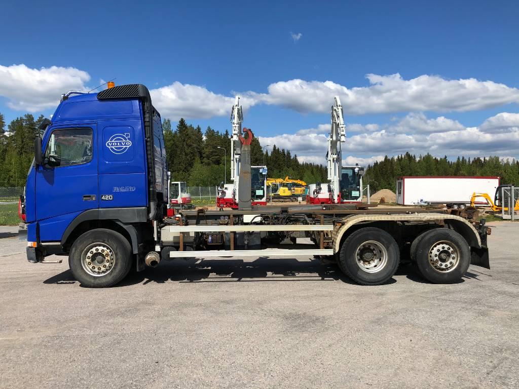 Volvo FH 12 420, Koukkulava kuorma-autot, Kuljetuskalusto