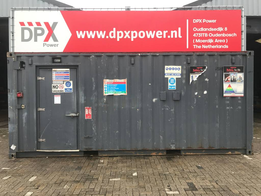 [Other] Housing Container - Workshop - DPX-11768-8, Bouwketen, Bouw
