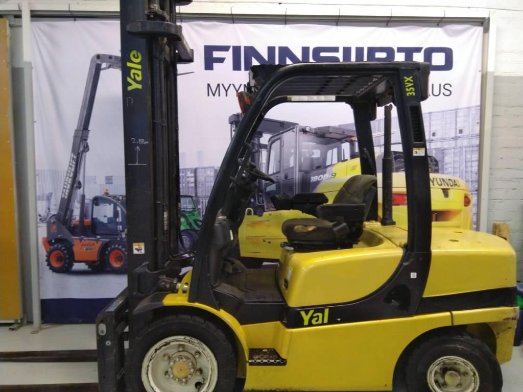 Yale GDP35VX V2895, Dieseltrukit, Materiaalinkäsittely
