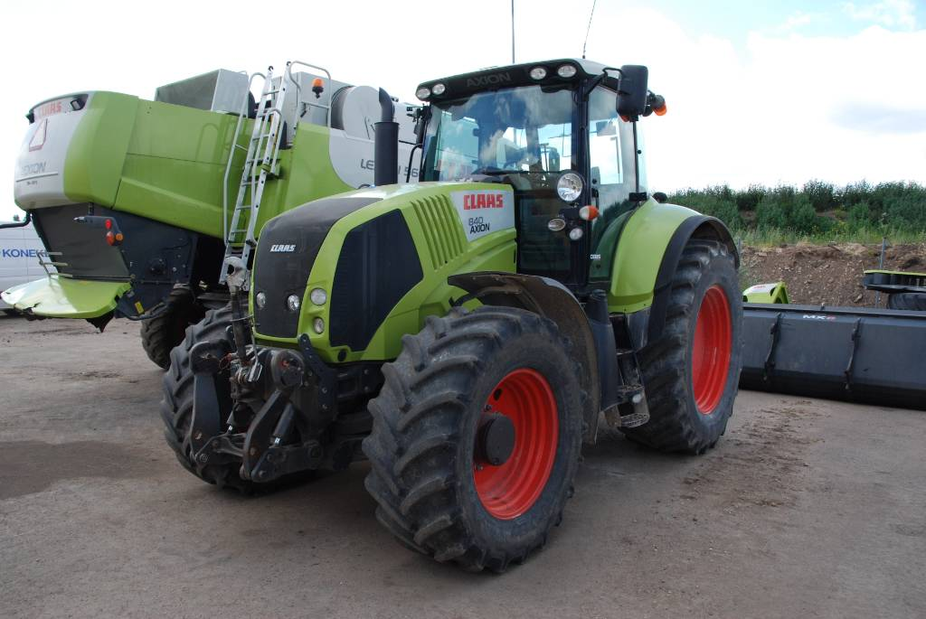 CLAAS Axion 840 Cebis, Traktoriai, Žemės ūkis