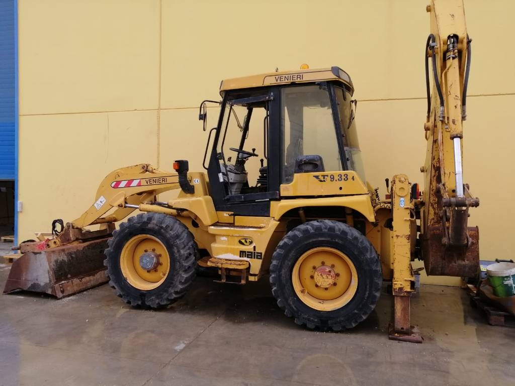 Venieri VF9.33 4WS, Backhoe Loaders, Construction Equipment