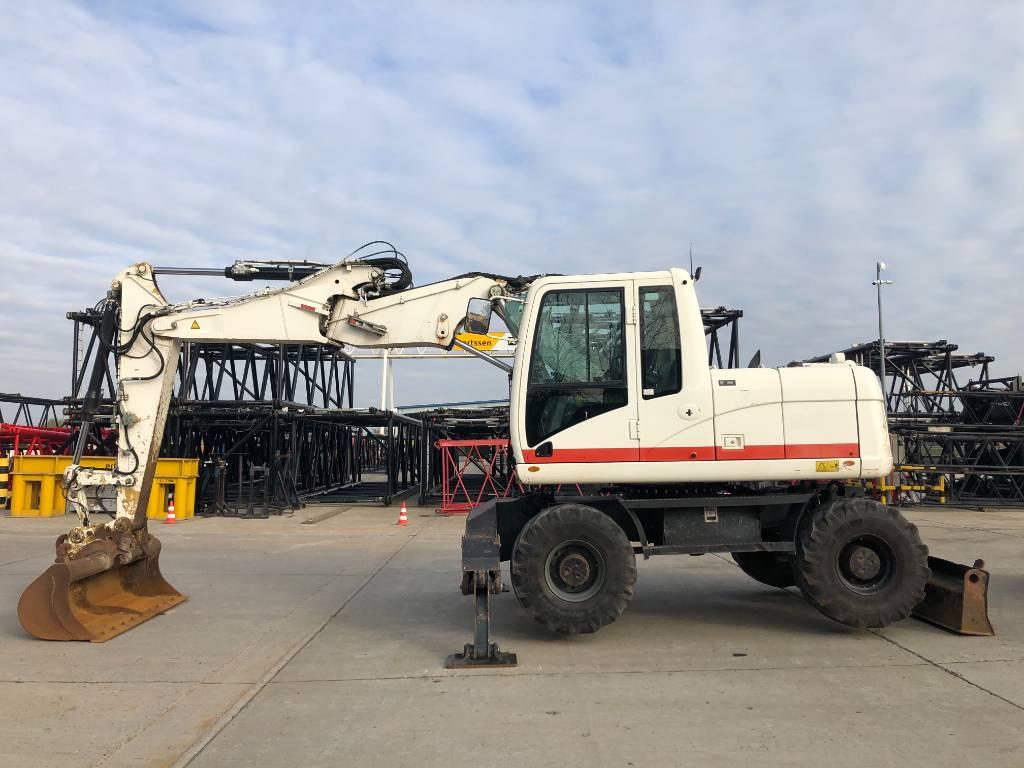 Caterpillar M 313 D VAH, Wheeled excavators, Construction