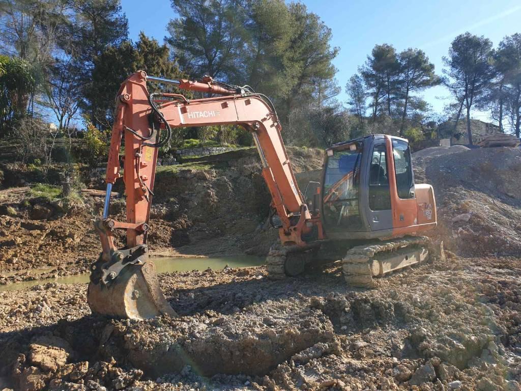 Hitachi ZX 80, Mini excavators  7t - 12t, Construction Equipment