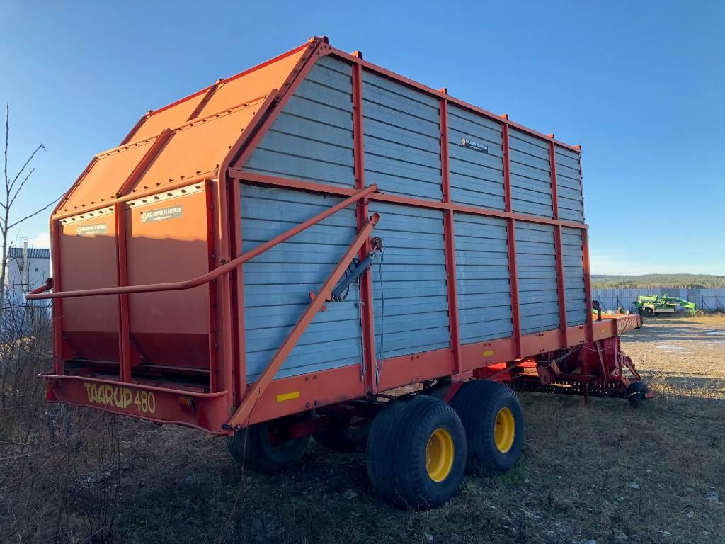 Taarup 480, Hackvagn / Självlastarvagn, Lantbruk