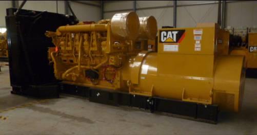 Caterpillar 3512B - 1.600 kVA (11kV) Generator, Diesel generatoren, Bouw