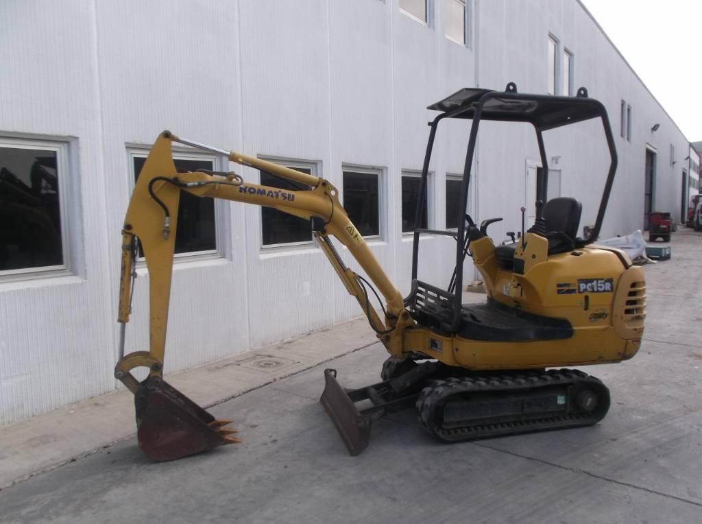 Komatsu PC 15 R-8, Mini Excavators <7t (Mini Diggers), Construction Equipment