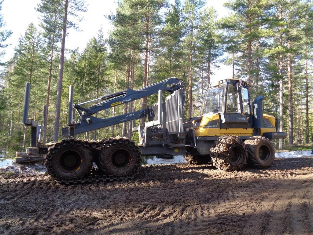 Eco Log 584F, Skotare, Skogsmaskiner