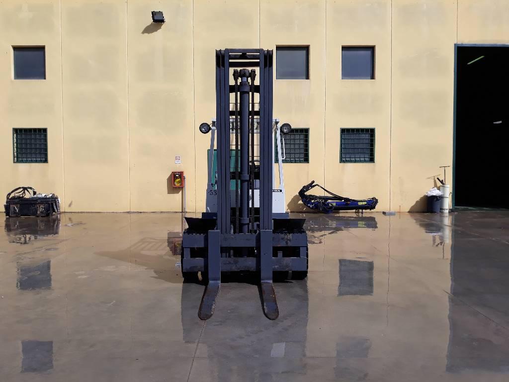 OM E 35 N, Carrelli elevatori elettrici, Movimentazione materiali