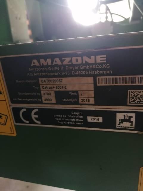 Amazone Catros+ 6001-2, Randaalid/mullafreesid, Põllumajandus