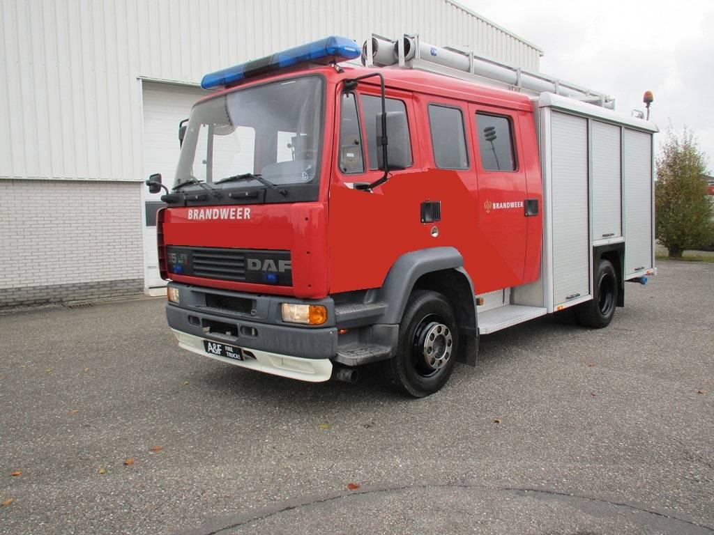 DAF 55-210 TI  Ziegler, Brandweerwagens, Transport